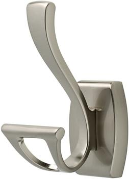 Delta Faucet 135241 Dansant Double Robe Hook SpotShield Brus
