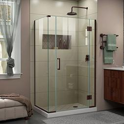 DreamLine E12806530-06 Unidoor-X Shower Enclosure, Oil Rubbe