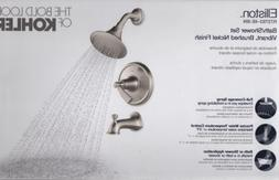 KOHLER Elliston R72783-4E-BN BRUSHED NICKEL Complete Bath Sh