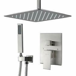 Esnbia Shower Bathtub & Systems System, Ceiling Brushed Nick
