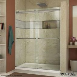 "DREAMLINE ESSENCE 44""-48"" X 76"" BYPASS SLIDING SHOWER DOOR,"