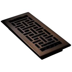 Floor Register Design Vent Sturdy Stylish Steel Cover Replac