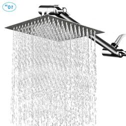 "HotelSpa Giant 10"" Stainless Steel Rainfall Square Showerhea"