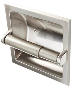 Rocky Mountain Goods Recessed Toilet Paper Holder with Rear