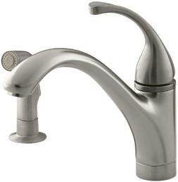 KOHLER K-10416-BN Forte Single Control Kitchen Sink Faucet w