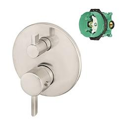 Hansgrohe K04230-01850BN-2 S Thermostatic Trim with Volume C