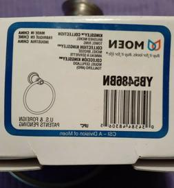 Moen Kingsley Collection Towel Ring Brushed Nickel YB5486BN