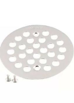 Moen Kingsley Shower Strainer Drain Cover Brushed Nickel 4-1