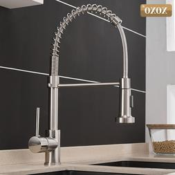 XOXO Kitchen Faucet Pull Out Cold and Hot <font><b>Brushed</