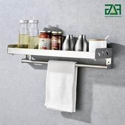 FLG Kitchen Shelf Kitchen Racks Towel Holder Wall Mounted St