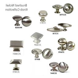 Knobs/Pull Kitchen/Bathroom Cabinet Hardware Brushed Nickel