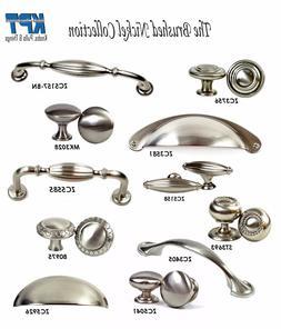 Knobs Pulls Handles Kitchen/Bathroom Cabinet Hardware Brushe