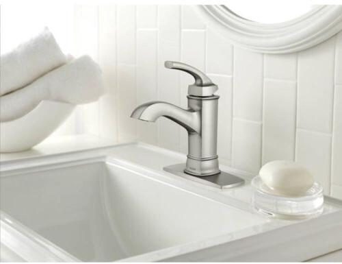 1-Handle Faucet Single Brushed Microban