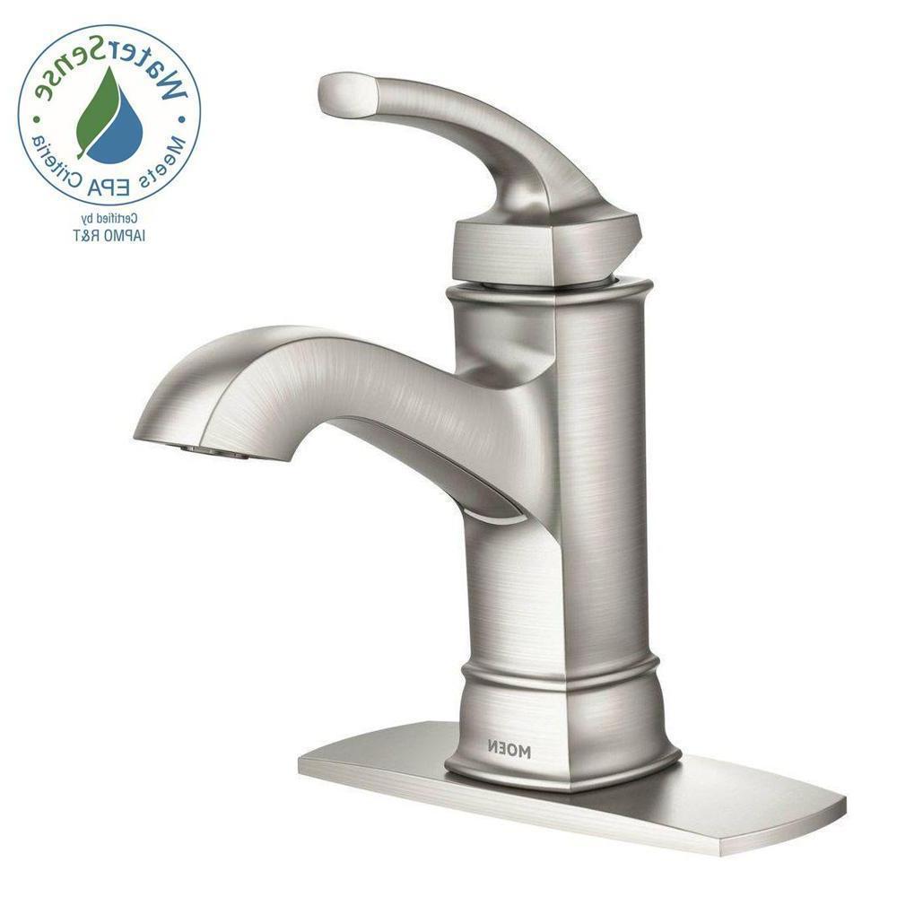1 handle bathroom faucet sink