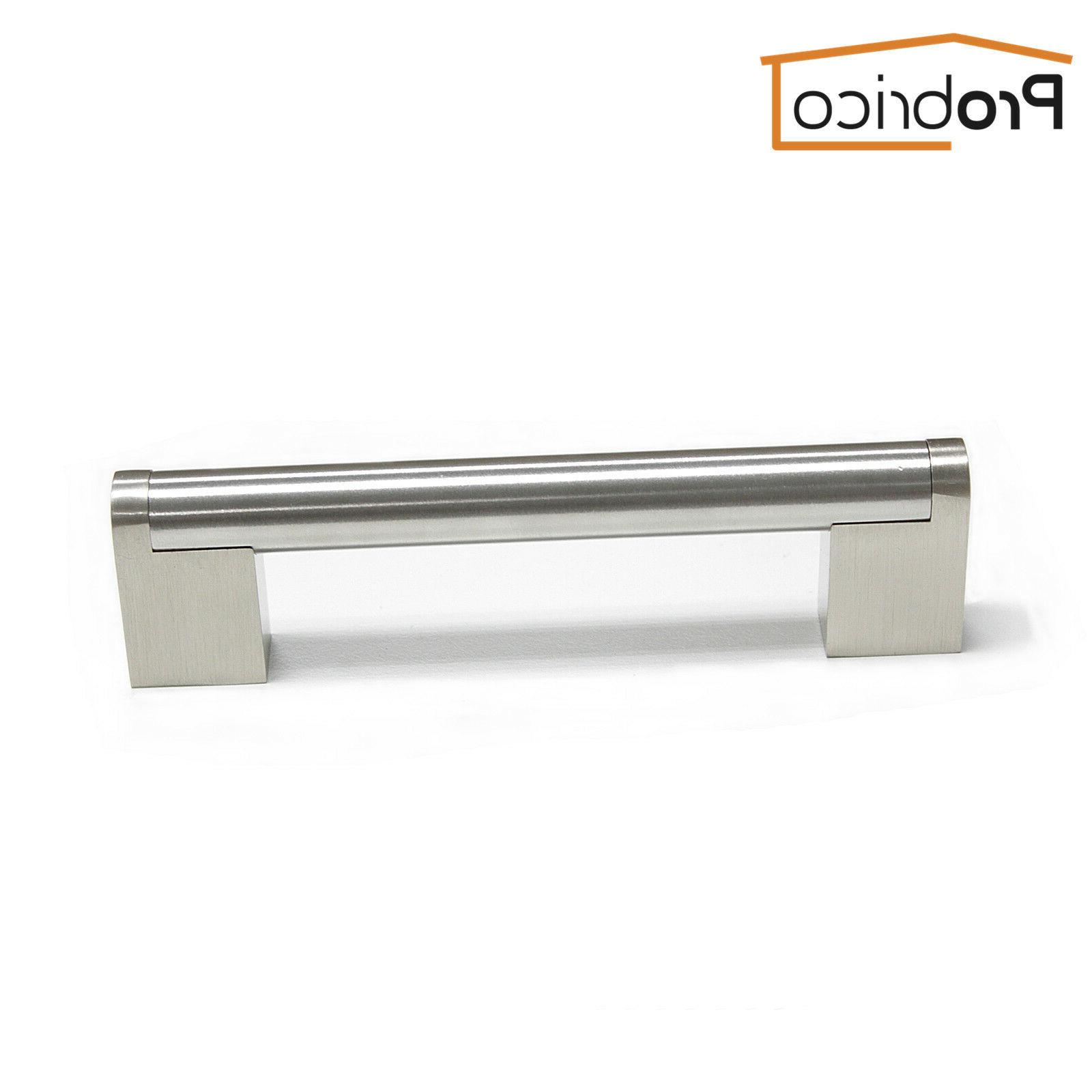 10PCS Nickel Cabinet Stainless Boss Bar Handle
