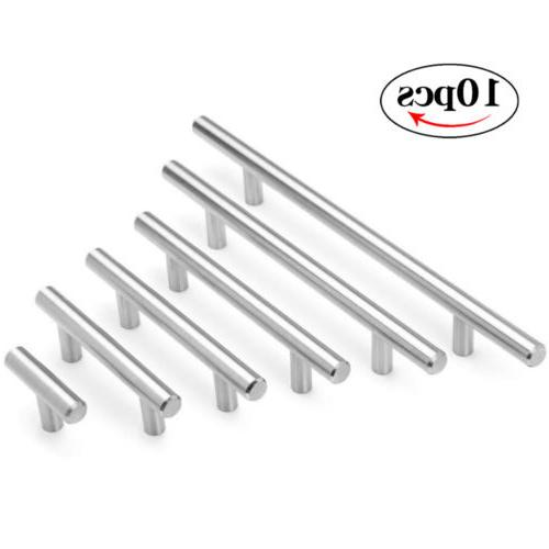 10pcs Stainless Steel Brushed Nickel Kitchen Cabinet Handle