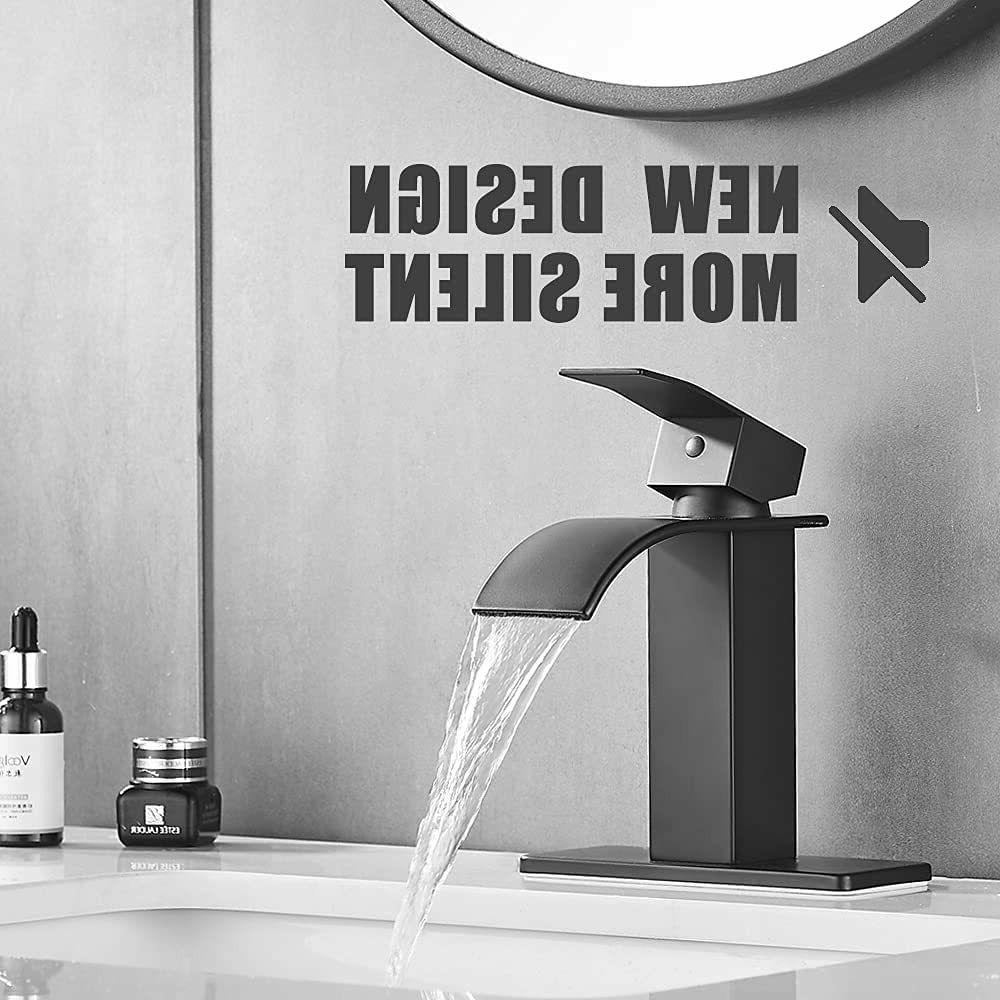12 tall bathroom sink faucet one handle