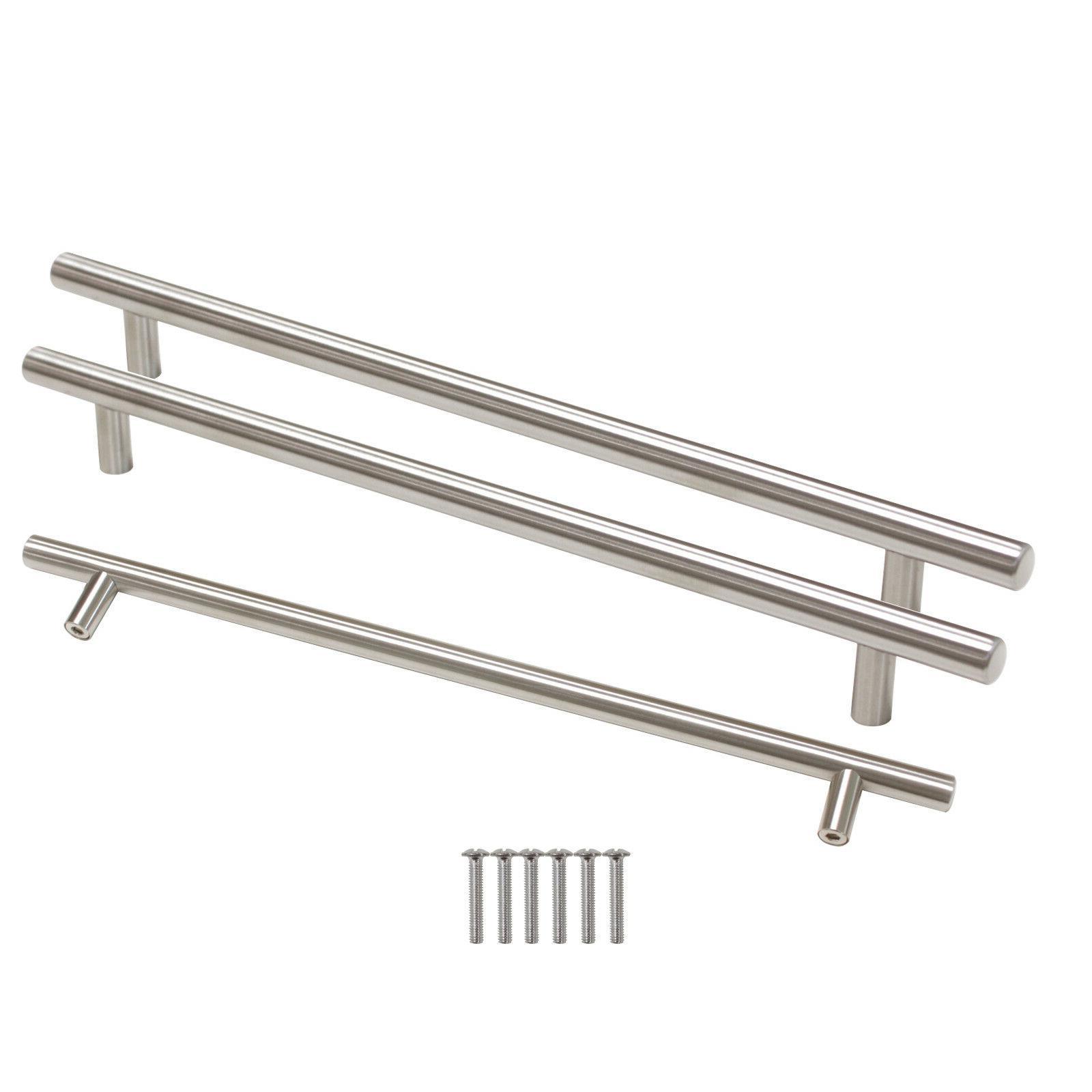 30Pack Brushed Nickel Pulls Steel T