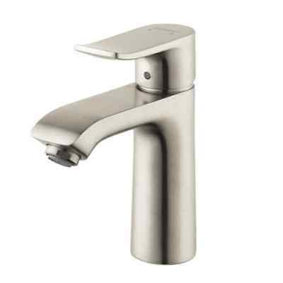 Hansgrohe 31080821 Metris 110 Single Hole Faucet Brushed Nic