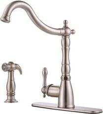 Premier 3552591 Charlestown Single-Handle Kitchen Faucet wit