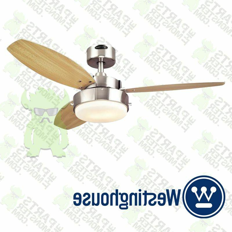 "WESTINGHOUSE 7247300 - 42"" Alloy Ceiling Fan w/ Light - Brus"
