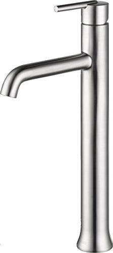 Delta Faucet Trinsic Single-Handle Vessel Bathroom Faucet wi