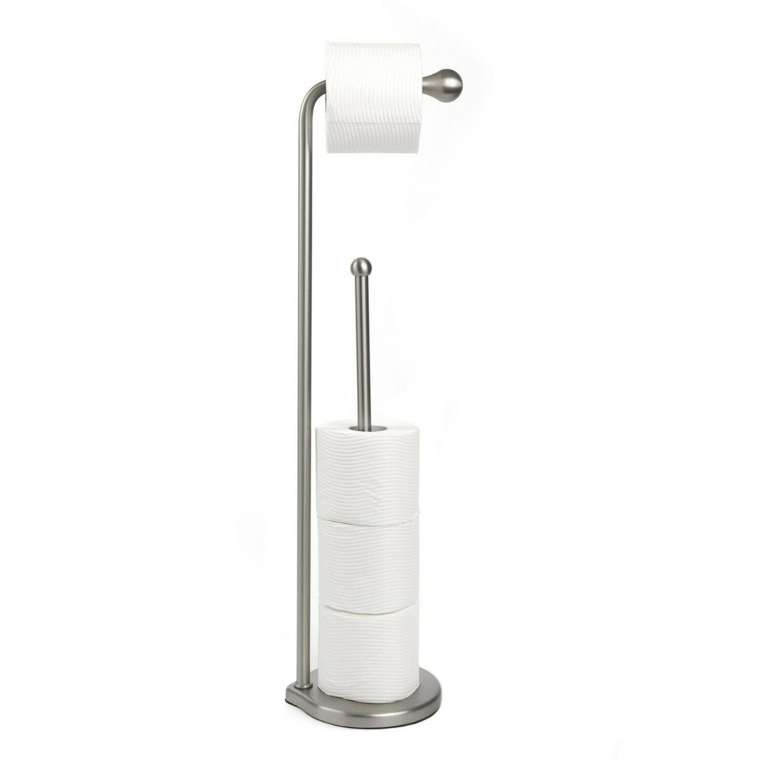 Umbra Teardrop Free Standing Toilet Paper Holder Stand with