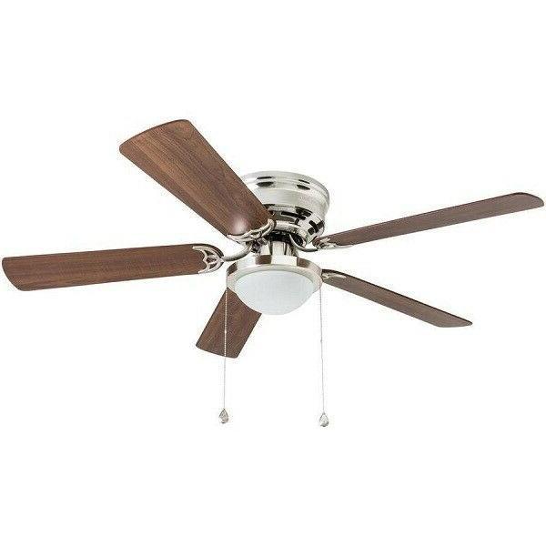 Harbor Armitage 52-in Brushed Nickel Indoor Ceiling Fan