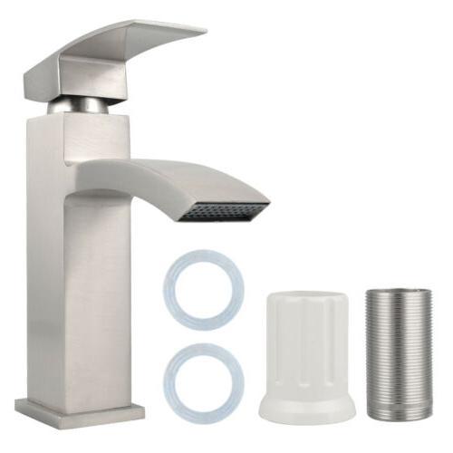 Bathroom Faucet Spout Basin Tap Single