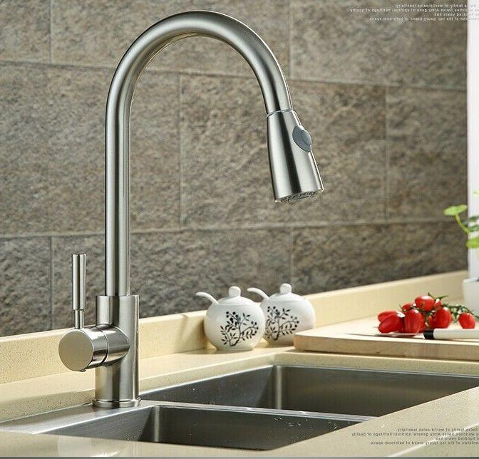 brand new pull out sprayer kitchen faucet