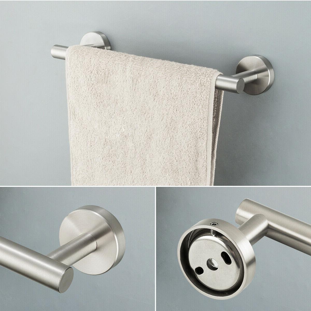 Brushed Bathroom Set Wall-Mounted