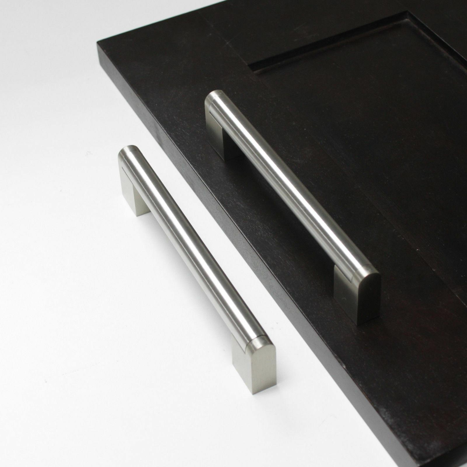 Brushed Nickel Cabinet Pulls Knobs Bar