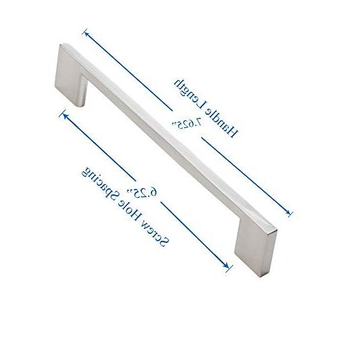 Southern Brushed Cabinet Handles- 5 Pack - Screw 7 5/8 - Pulls,