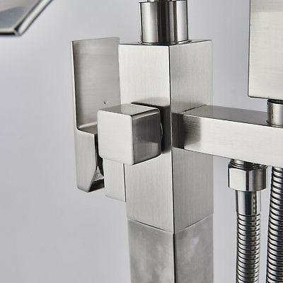 Brushed Bathtub Free Faucet Shower