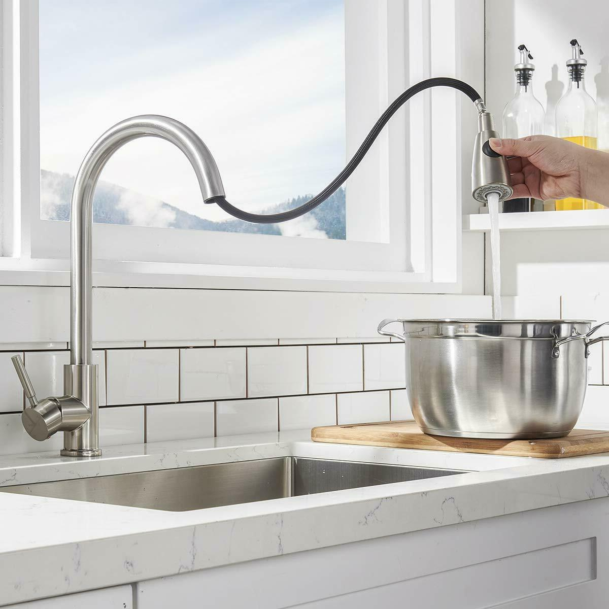 Single Faucet Out Brushed Nickel Cover