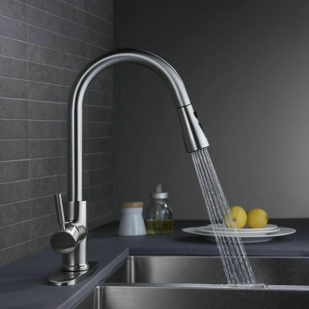 Single Handle Faucet Out Brushed Nickel Cover