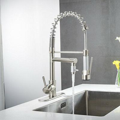 ULGKSD Nickel Kitchen Sink Faucet Pull