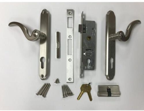 brushed nickel lockset kwikset key control deadbolt