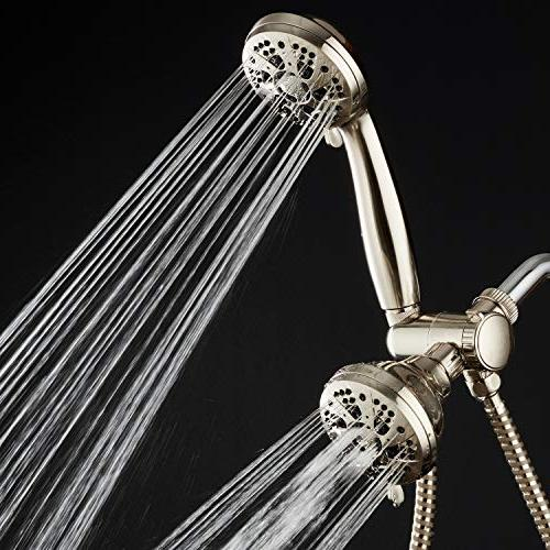 AquaDance Pressure Shower Combo Anti-Clog Showerhead Jets, Installation Standard Certified - Brand