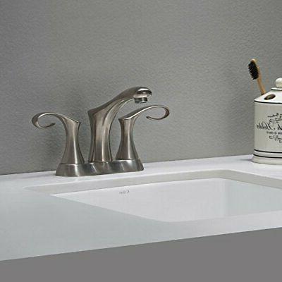 Cirrus Inch Centerset 2 Faucet Nickel Hot