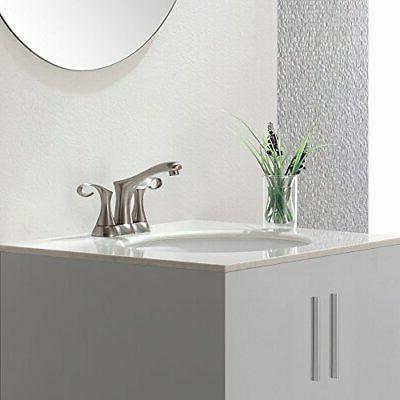 Cirrus 4 Centerset 2 Bathroom Faucet Set Hot