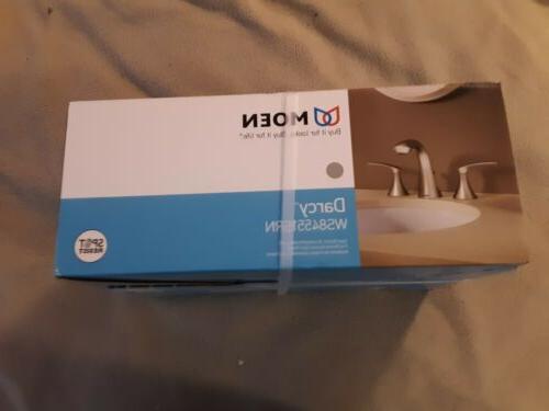 Moen Darcy WS84551SRN Widespread Bathroom Nickel. New.