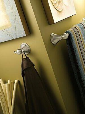 Moen DN8418BN Towel Bar, 18 Inch, Brushed Nickel