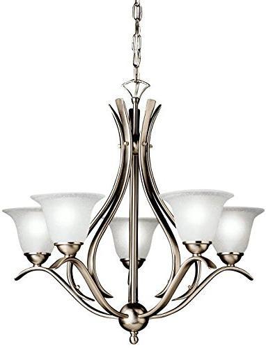 dover chandelier brushed