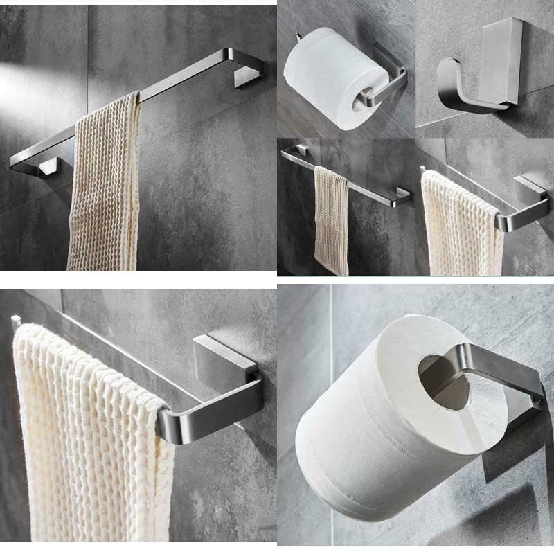 elloallo brushed nickel bathroom hardware set stainless