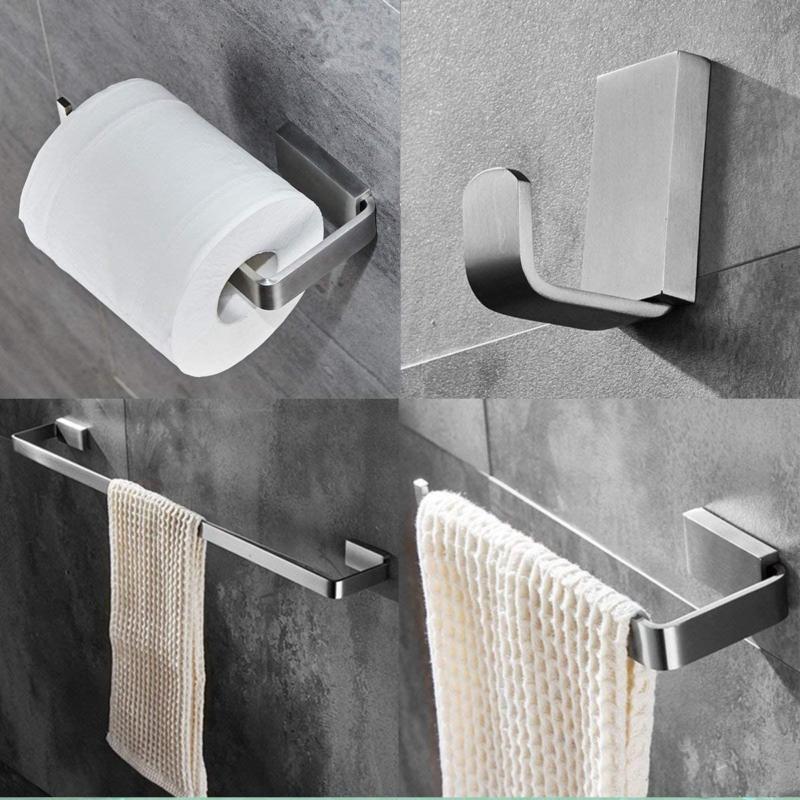 ElloAllo Bathroom Hardware Steel Bar Wall