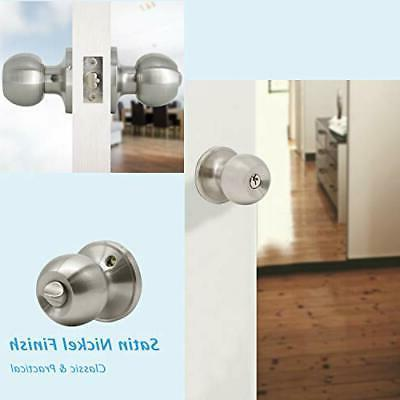 Entrance Knobs with Door Sets Finish 5