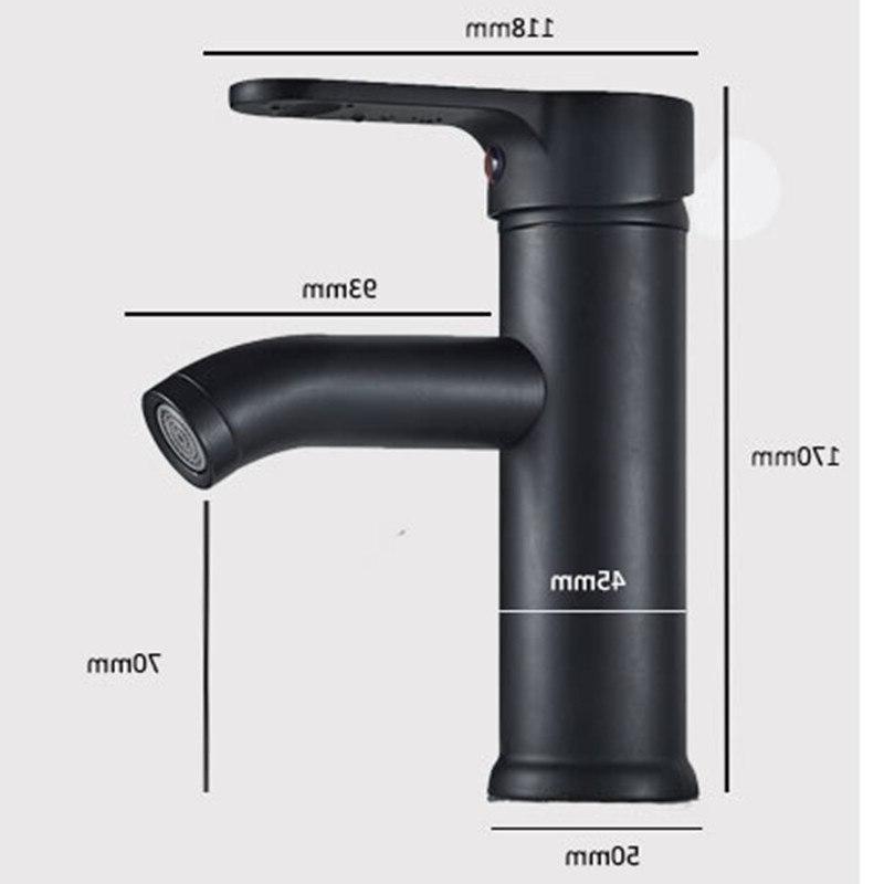 <font><b>Bathroom</b></font> Stainless steel Free pb Black basin water black stainless <font><b>faucet</b></font>