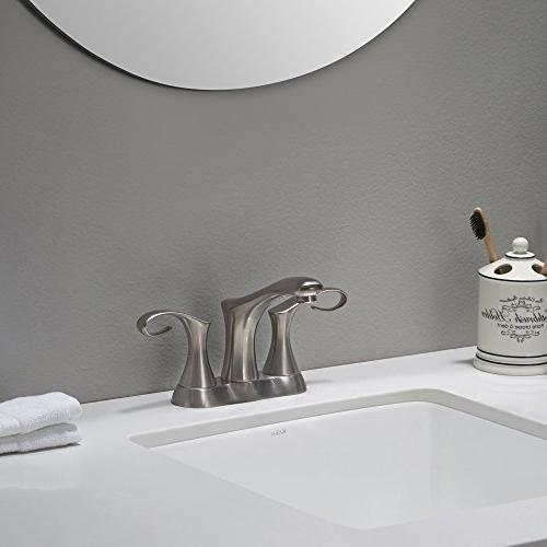 Kraus Centerset 2-Handle Bathroom Faucet,