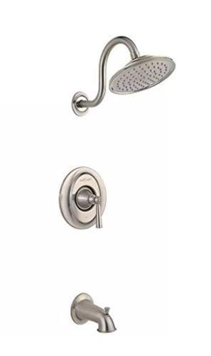 Pfister Saxton 1-Handle Tub Trim 2.0 gpm Brushed Nickel